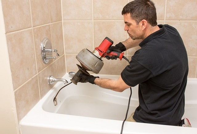 plumber home drain blockage unclog drains clean out
