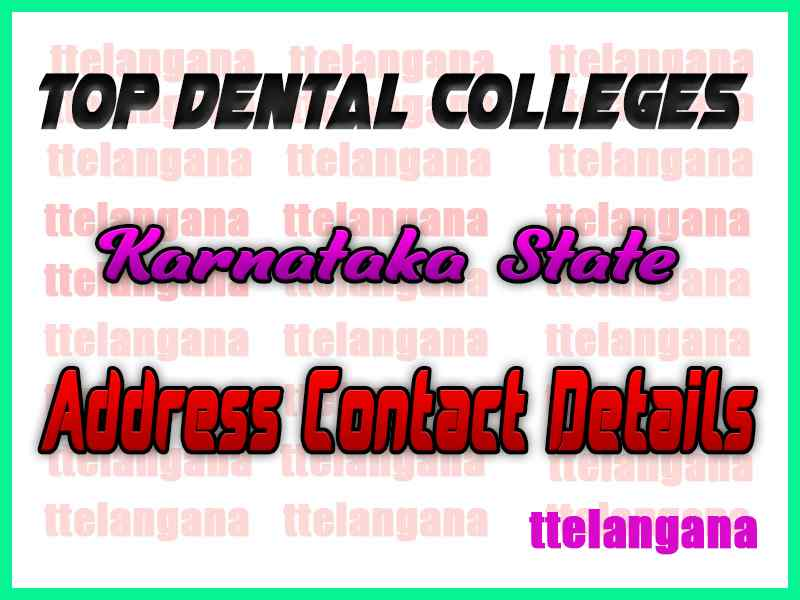 Top Dental Colleges in Karnataka