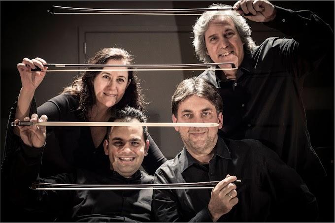 Barroco alemão e romantismo francês são tema de concertos do Quarteto de Cordas