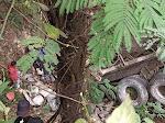 Truk Bermuatan Batu Masuk Jurang di Toba, Supir Belum Ditemukan