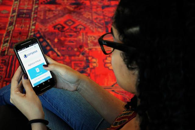 Compesa lança nova versão do seu aplicativo