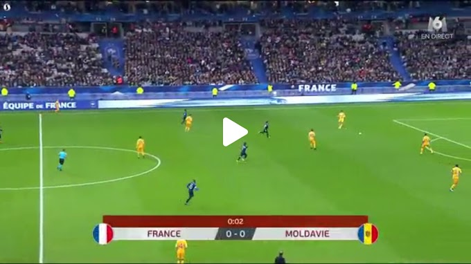 VIDEO: France 2:1 Moldova / European Qualifiers