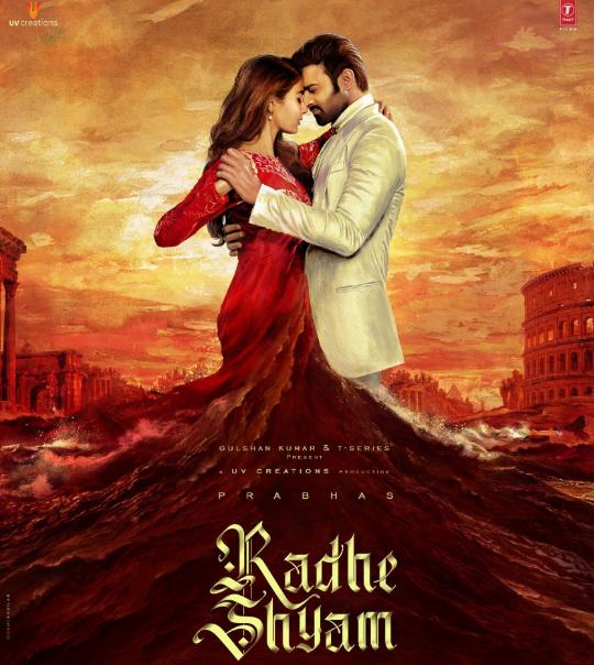 Radhe Shyam Film First Look, Radhe Shyam First Poster