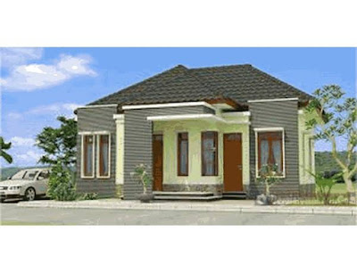 contoh rumah minimalis modern di desa