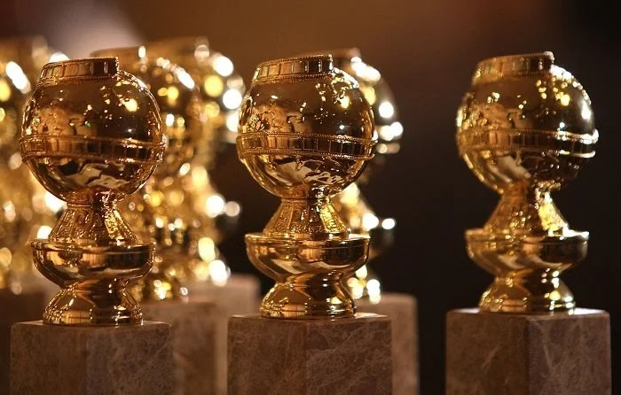 What happens at the first Golden Globe party during the Coronavirus?
