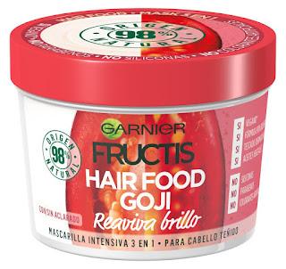Mascarilla Fructis Hair Food Goji