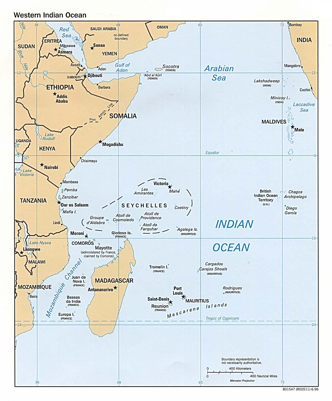 Indischer Ozean Weltatlas