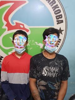 Satnarkoba Polres Pelabuhan Makassar Amankan dua Pengguna Narkoba di Dangko