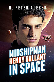 Midshipman Henry Gallant in Space - science fiction book promotion by H. Peter Alesso