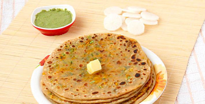 मुळ्याचा पराठा - पाककला | Mulyacha Paratha - Recipe