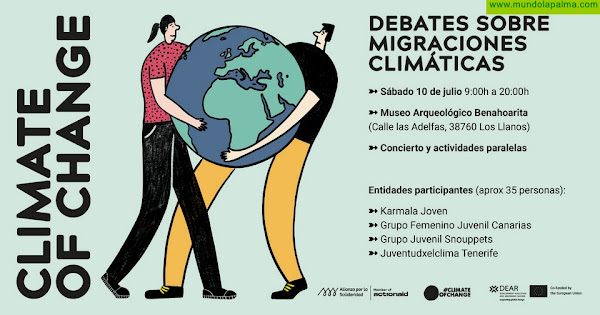 La juventud de Canarias concursa en un debate europeo sobre el Cambio Climáticoen el MAB