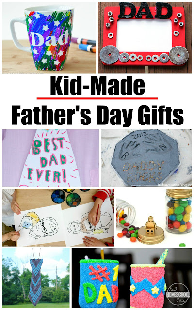 18 Creative Father's Day Crafts - so many really creative ideas to make the perfect father's day gifts kids can make themselves.