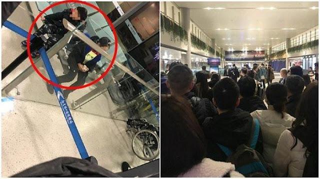 Diduga Terinfeksi Virus Corona, Pasangan Suami Istri Tinggalkan Dua Anaknya di Bandara