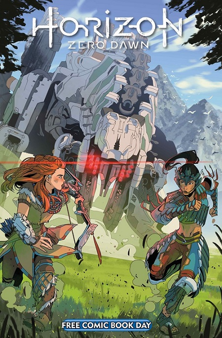 Horizon Zero Dawn/Titan Comics/Reprodução