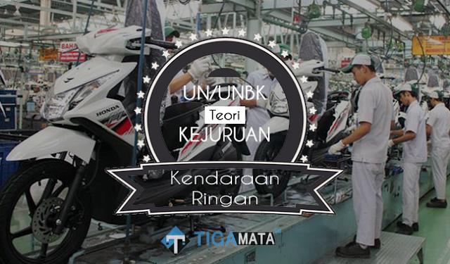 Prediksi Soal UN/UNBK Teori Kejuruan TKR 2019 dan Kunci Jawaban (Otomotif)