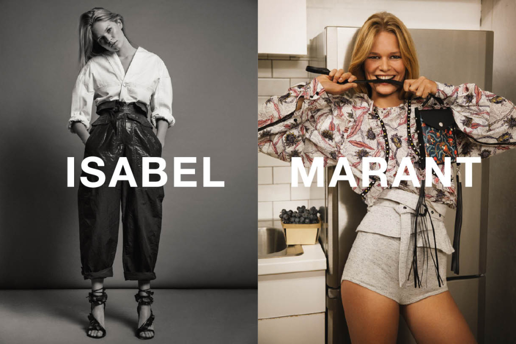 Anna Ewers by Inez & Vinoodh for Isabel Marant Spring/Summer 2017
