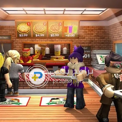 لعبة WORK AT A PIZZA PLACE