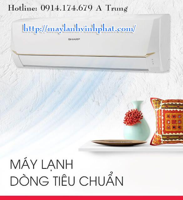 Điện Lạnh Vĩnh Phát là nhà Cung cấp Máy lạnh treo tường Sharp 1.5HP – May lanh treo tuong 2