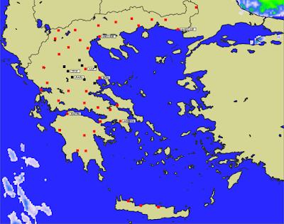 5 - Πρόγνωση Ελλάδας-Θεσσαλίας 21-23/1/2020 Βοριάδες, παγετός και ηλιοφάνεια