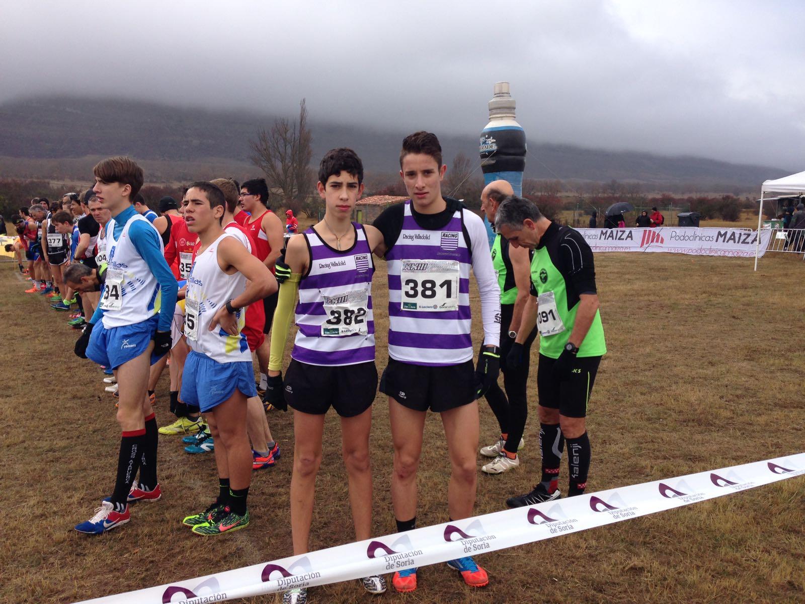 Escuela atletismo mayte martinez racing valladolid lluvia for Viveros en palencia