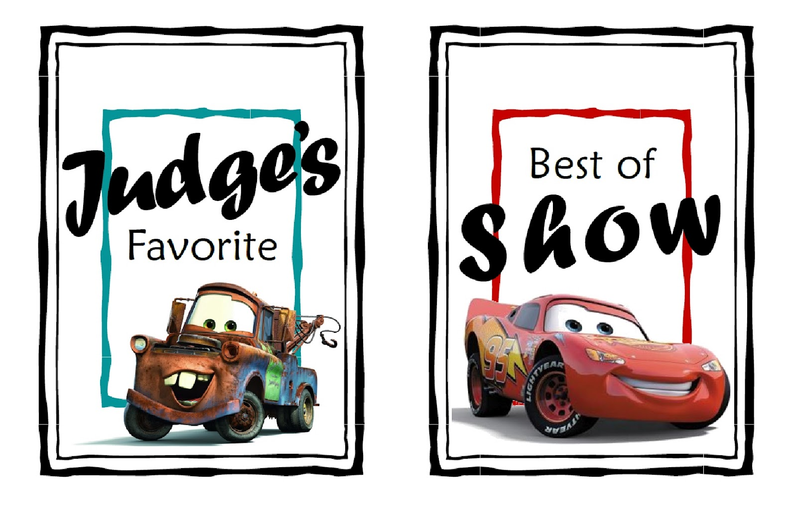 Here Are Some Cute Pinewood Derby Award Tags And Easy