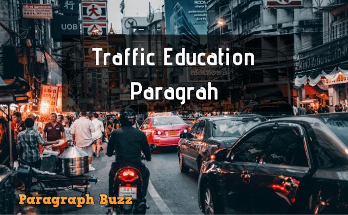 Paragraph on Traffic Education: For All School Students