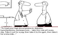 Exercise is medicine cartoon