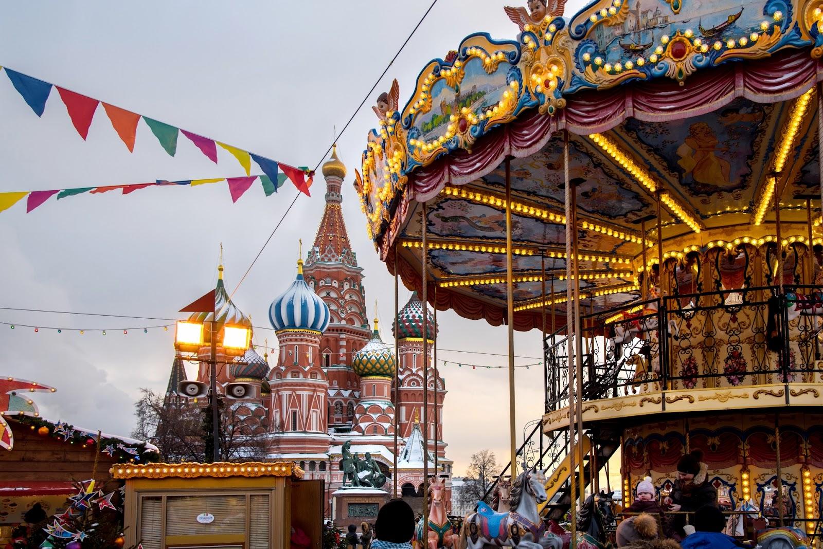 Фотографии Новогодней Москвы. Рождественский свет