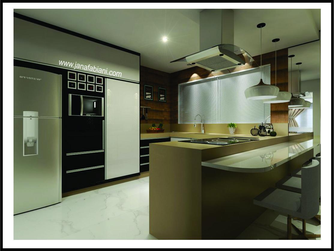 reforma de cozinha 3d