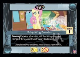 My Little Pony Babysitting Breezies Absolute Discord CCG Card