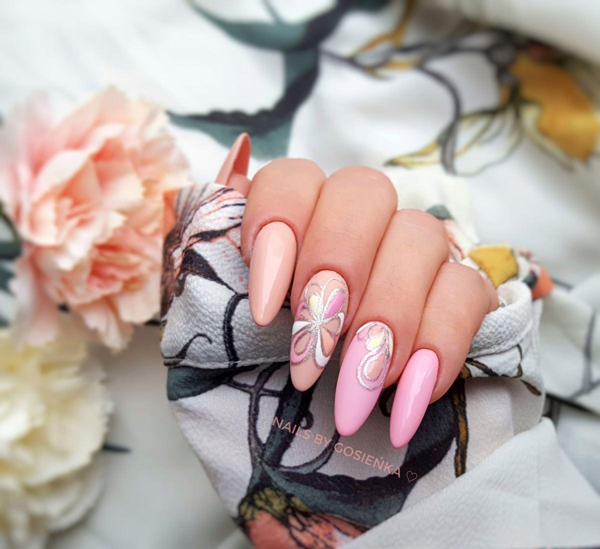pomysły na paznokcie hybrydowe