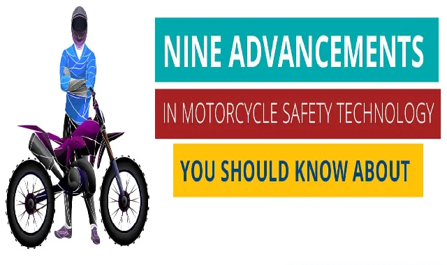 9 Advancements In a Motorcycle Safety Technology You Should Know About #infographic
