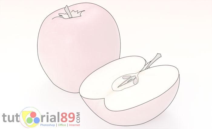 83+ Gambar Apel Pake Pensil Kekinian