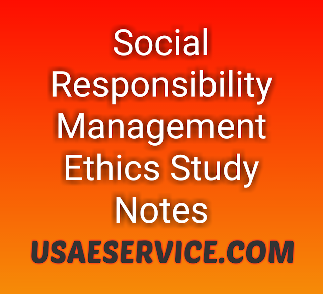 Social Responsibility Management Ethics Meaning