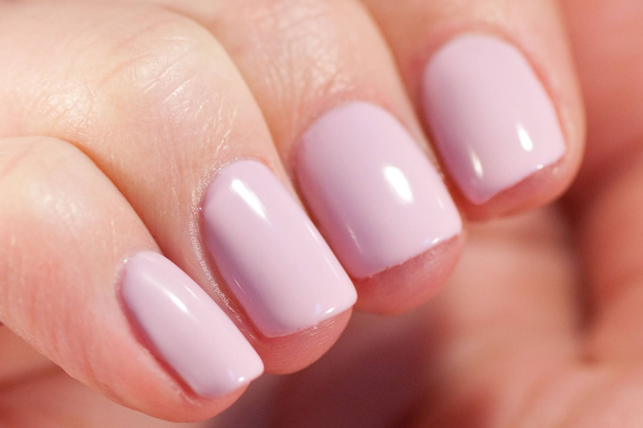 Pink Gellac swatches - 122 Baby Pink