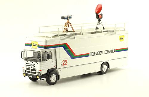 Pegaso 1135L 1981 Unidad Móvil de Televisión Española colección camiones pegaso salvat