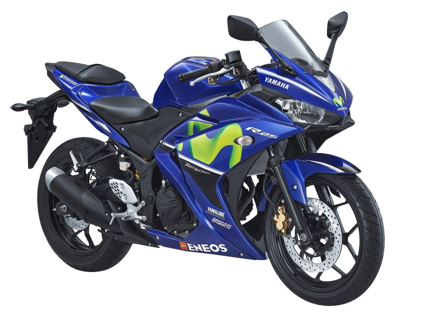 Yamaha Indonesia resmi merilis 5 motor berlivery MotoGP Movistar, harga naik sedikit saja