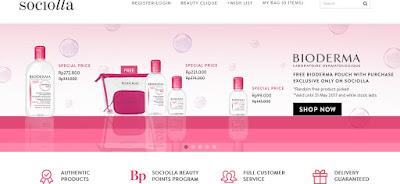 Belanja Kosmetik Terpercaya dan Terlengkap di Sociolla