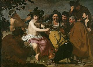 El triunfo de Baco, Velázquez