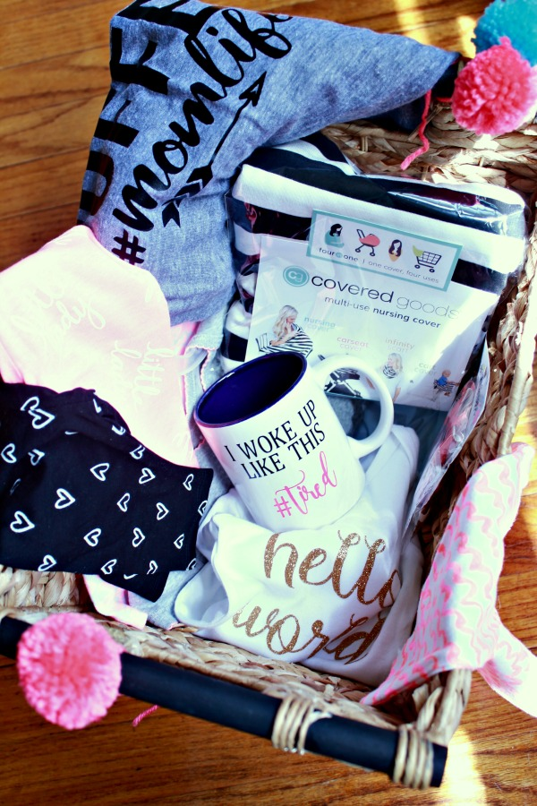 eat drink be mary a gift basket for the first time mom