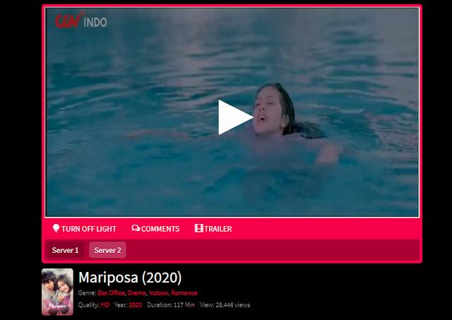 Nonton Film Mariposa (2020) Lengkap Link Terbaru 2021
