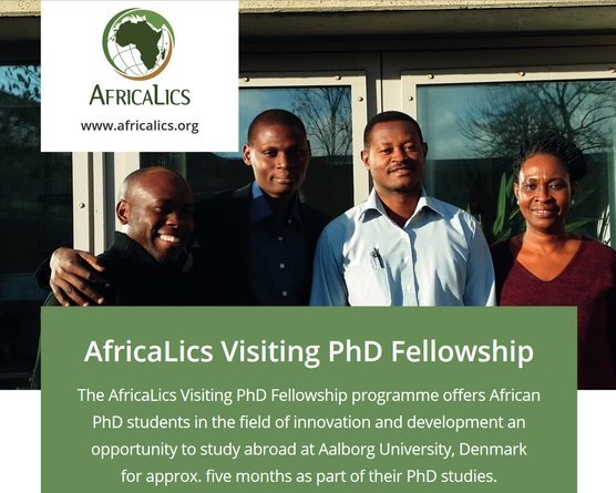 AfricaLics PhD Visiting Fellowship 2020 Fully Funded