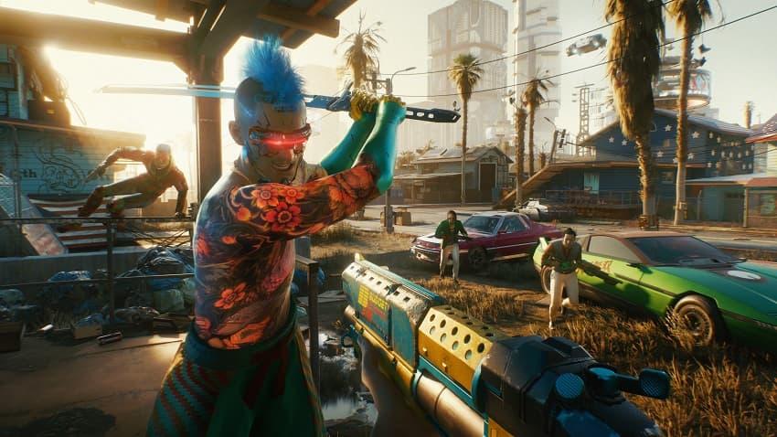 Разработчики Cyberpunk 2077 показали почти 20 минут геймплея и рассказали о сюжете и оружии