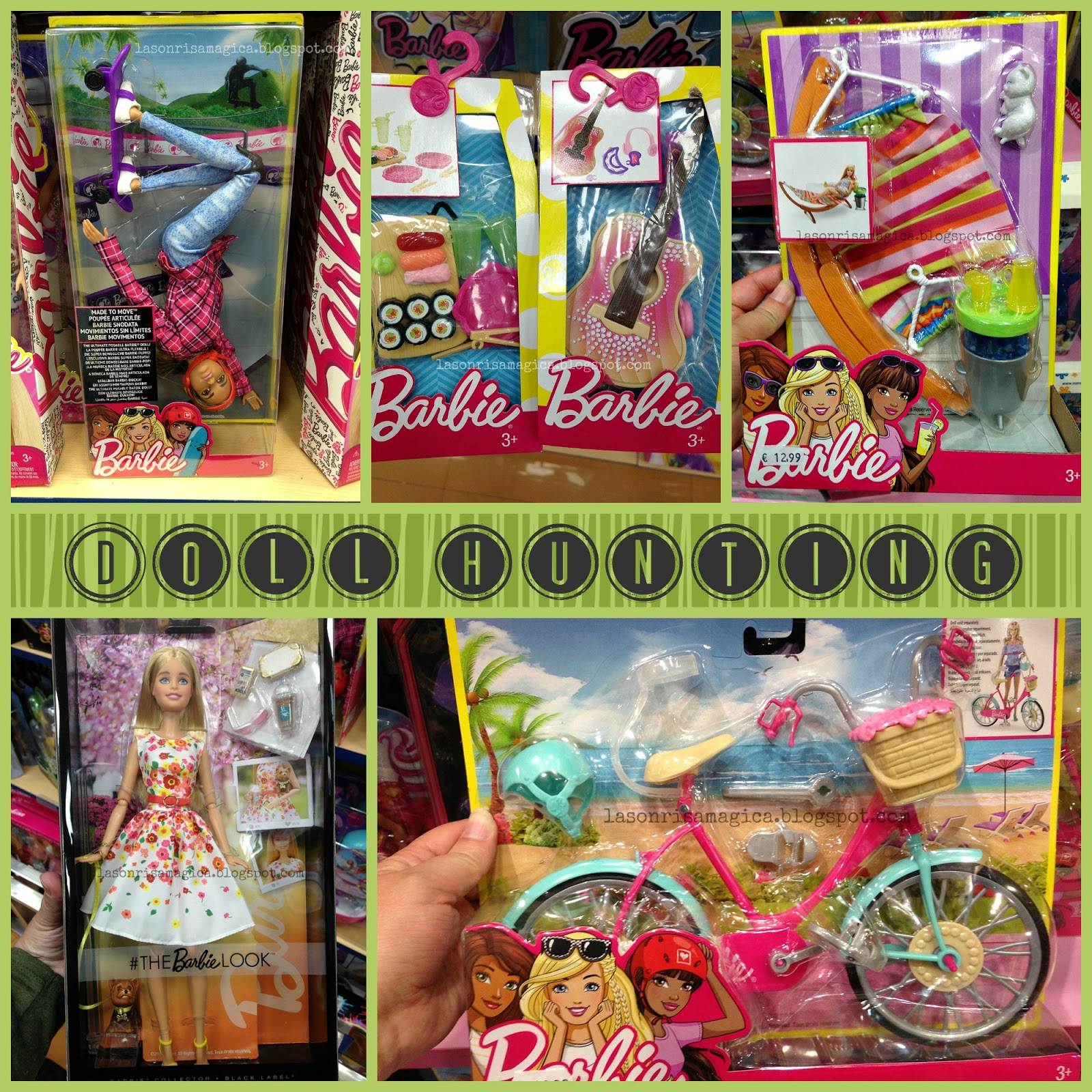 La Sonrisa Mágica: Spring doll hunting! Barbie Collector, Playline ...