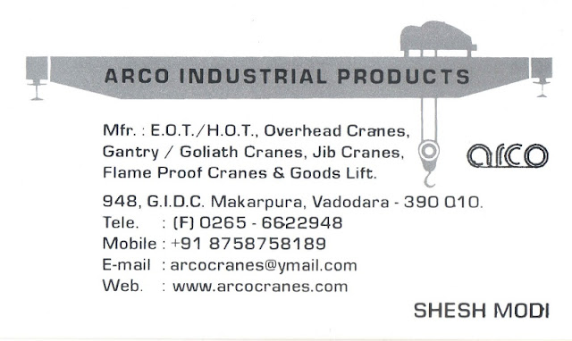 arco industrial products makarpura gidc