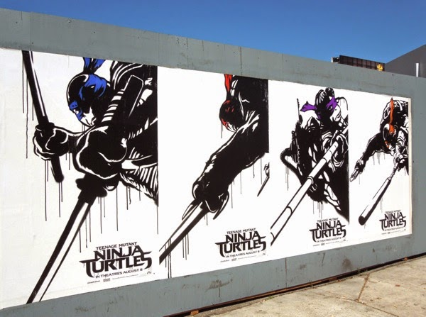 Teenage Mutant Ninja Turtles movie remake posters