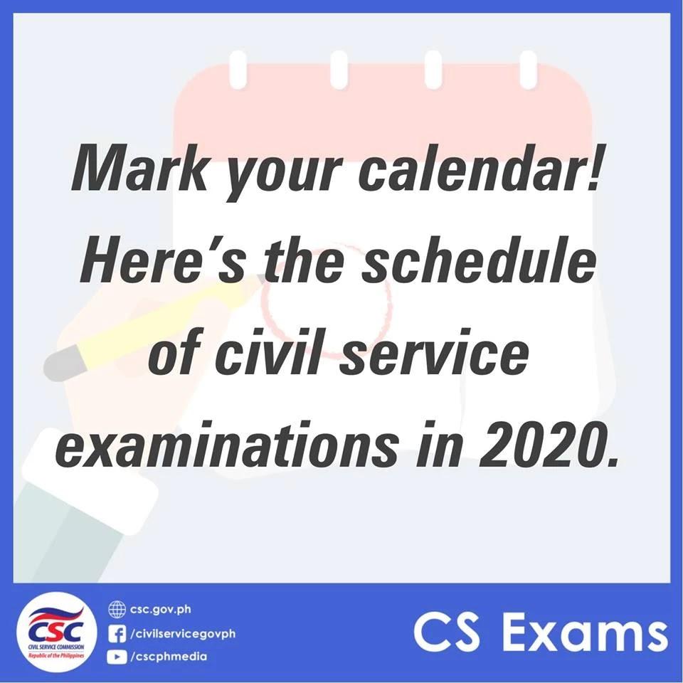 2020 CSC Civil Service Examinations