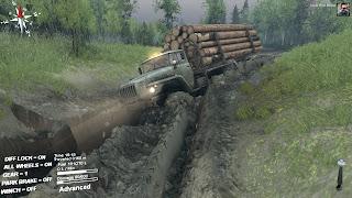 تحميل لعبة قيادة الشاحنات الممتعة Spintires