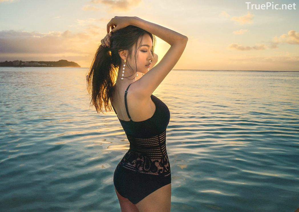 Park Jeong Yoon - Can't Help Falling - Korean swimsuit and model - Picture 4