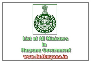 Cabinet ministers of haryana